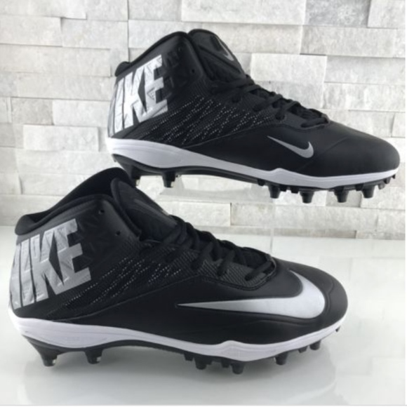 Nike Other - Nike Football Cleats Zoom Code Elite D PF Black
